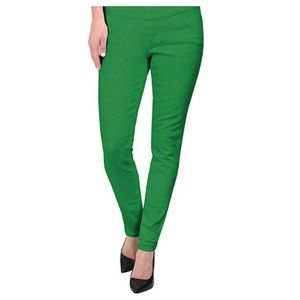 Never Worn: Green slim fit slacks